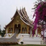 王宮の寺院(ルアンパバーン)