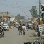 スノウリ国境(インド・ネパール国境)