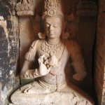 仏像・ラトナギリ(オリッサ)