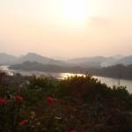 プーシーの丘夕景(ルアンパバーン)