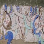 キジル石窟壁画