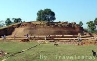 スジャータ村(インド・ブダガヤ)