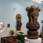インドの国章「四頭獅子像」