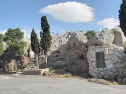 ギリシャ アレオパゴスの丘